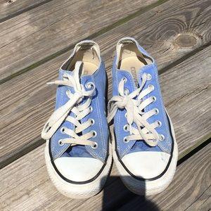 Converse Shoes - Blue converse
